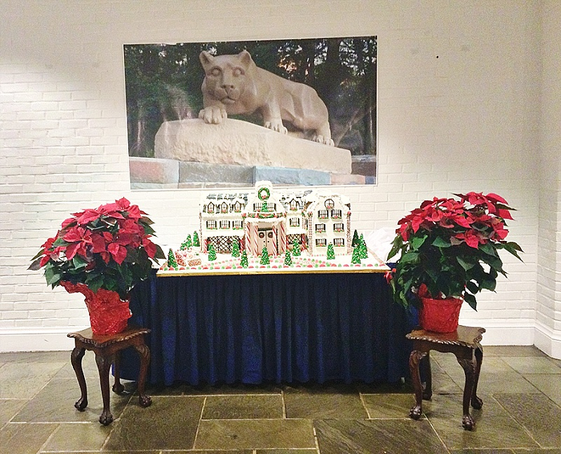 Nittany Lion Inn at Christmas